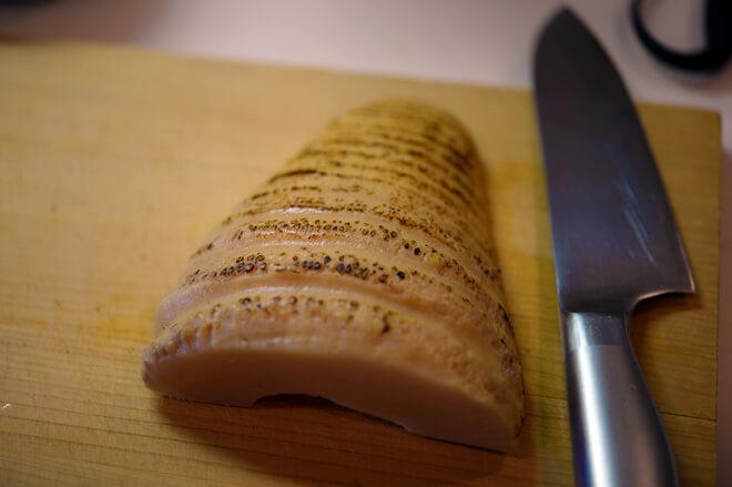 マルイシ食品「いぶりたけのこ ハーフ」