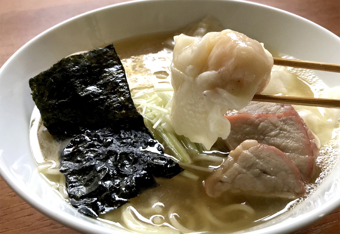 八雲「特製ワンタン麺(白)」